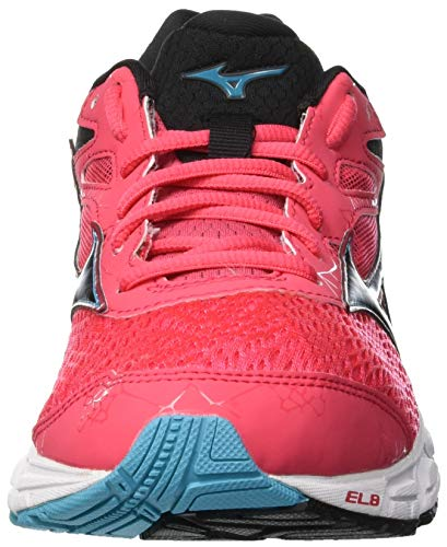 teaberry Sneakers Basses blk 001 Equate Femme blue Wave 2 Multicolore Mizuno C1qwp0nx