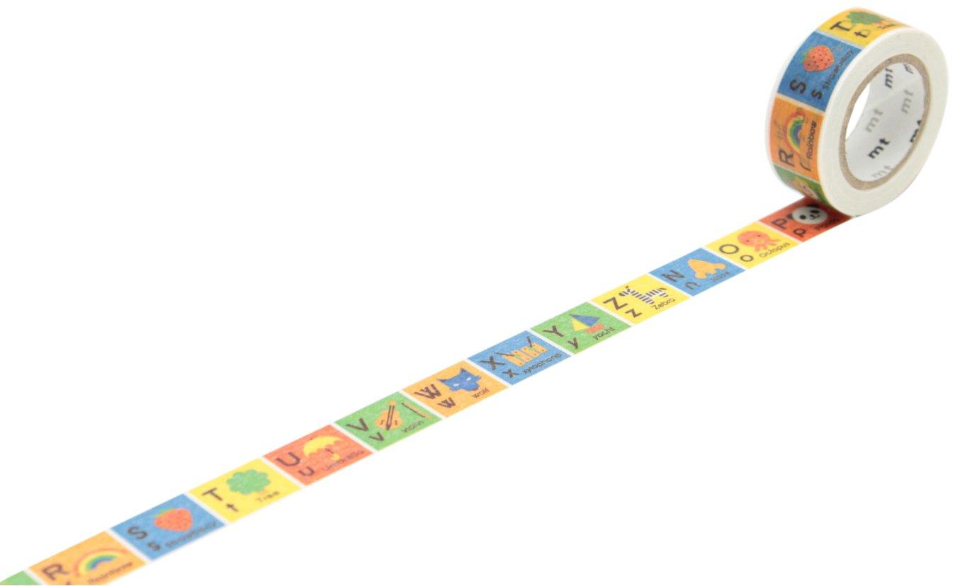 MT Washi - Rotolo di nastro adesivo protettivo per bambini Pois colorati Kamoi Kakoshi Co MT01KID02Z