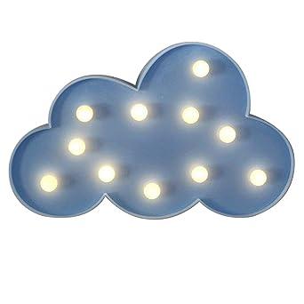 NHsunray Lámparas decorativas,Decoración Iluminación Lámpara de ...