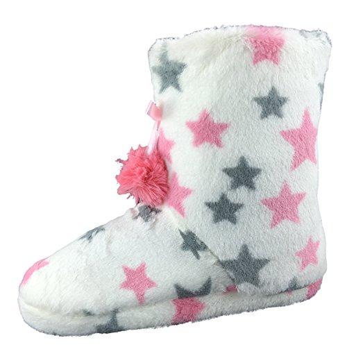 SaneShoppe - Zapatillas de casa Mujer Weiß