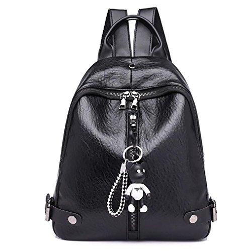 modo La borsa borsa delle donne 15 casuale di cuoio PU zaino multifunzionale 30cm di molle 25 wrIqrd