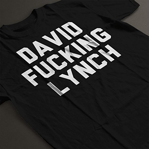 Women's Black Coto7 Lynch Fucking David T shirt qnZSTpw