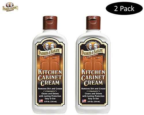 Cream Kitchen - Parker & Bailey Kitchen Cabinet Cream, 8 oz. Bottle, 2 Pack
