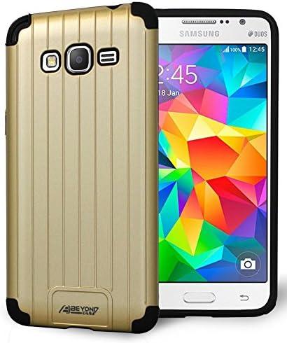 Grand Prime G530 Case Oro Metálico Slim Duo Shield Carcasa Para Samsung Galaxy Grand Prime G530 Teléfono Aka Grand Prime Duos Go Prime Sm G530 G530 A G531 G530h G530p G530t G530 A