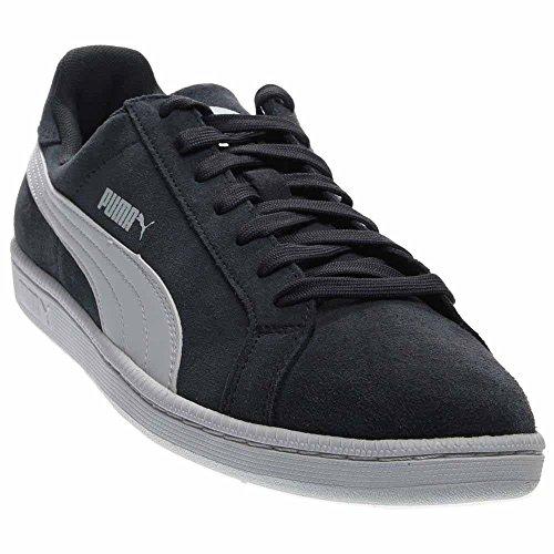 Sneaker PUMA Men's Leather White New Smash Classic Navy qCgx8UwC