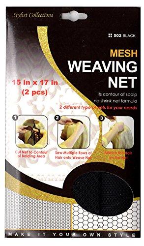 M & M 6 PACKS OF M&M HeadGear Q-FITT Mesh Weaving Nets #502