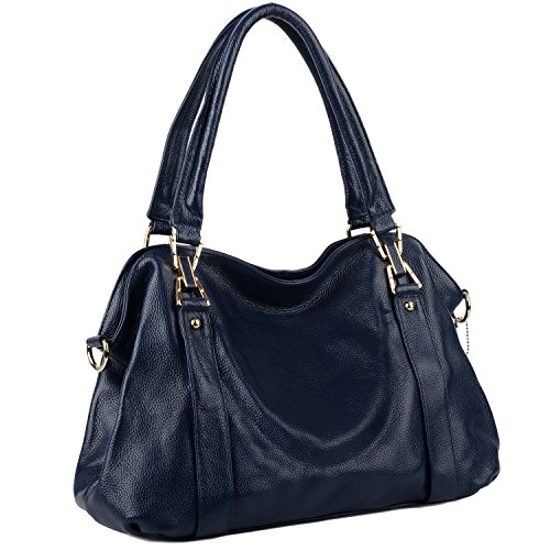 Blue Satchel Handbags - 9