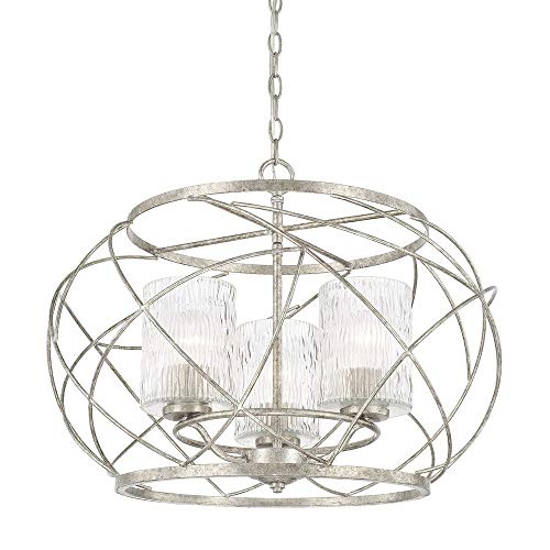 (Capital Lighting 310631AS-301 Three Light Pendant)