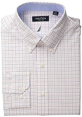 Nautica Men's Tattersall Plaid Shirt