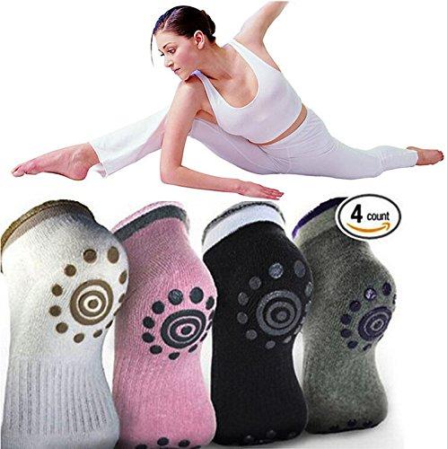 Sumdreams Ladies Socks Grips Cotton