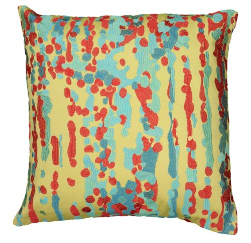 Decorative Pillow Cover Model : UPC 844353602562 - Rizzy Home T06173 Printed with Embroidery Details