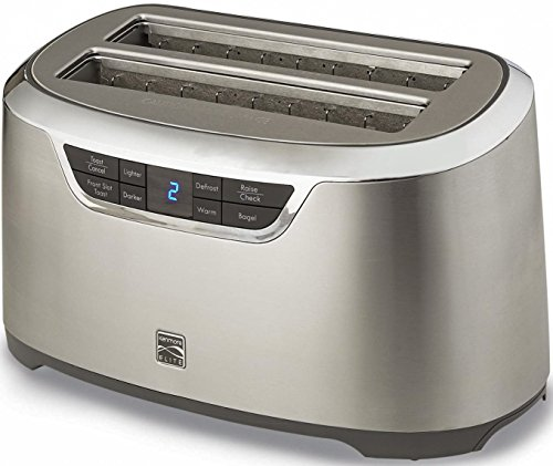 Kenmore 4 Slice Auto Lift Toaster Stainless