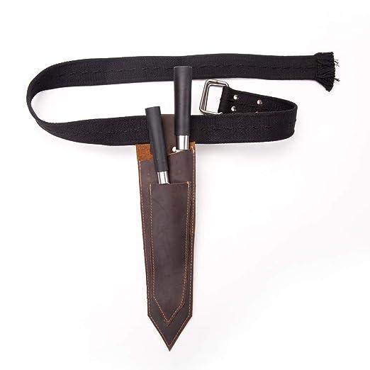 Funda de piel para cuchillos, funda para cuchillos ...