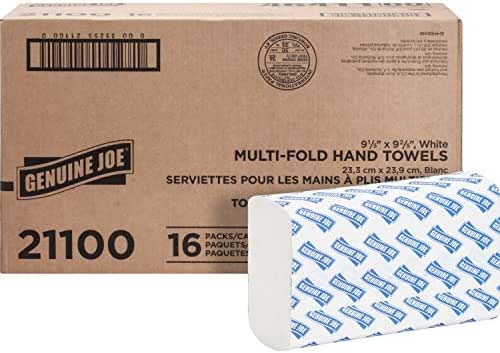 Paper Towels: Genuine Joe Multifold Towels