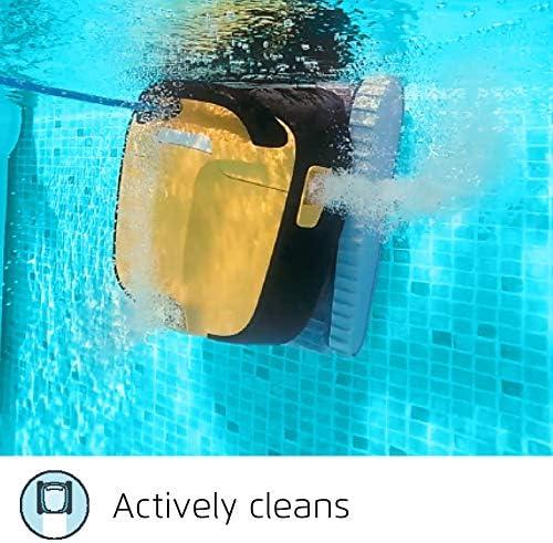 Dolphin Robot de Piscine électrique Maytronics E30 - Robot nettoyeur fond, parois et ligne d'eau Compatible Tout Type de Revêtement de Piscinetout - Home Robots