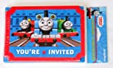 Thomas and Friends Invitations and Thank You Notes w/ Envelopes (8ct ea)