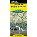 Springer and Cohutta Mountains [Chattahoochee National Forest] (National Geographic Trails Illustrated Map)