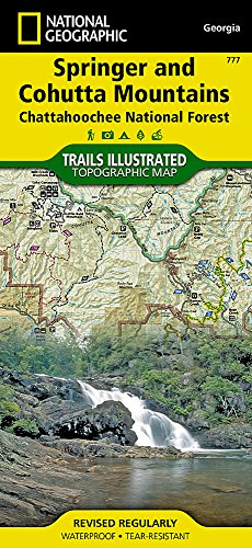 (Springer and Cohutta Mountains [Chattahoochee National Forest] (National Geographic Trails Illustrated Map))