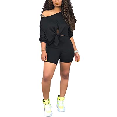 2 Piece Outfits for Women - Tie Dye Short Sleeve T Shirts Top Joggers Pant Tracksuit Sportwear Set: Clothing