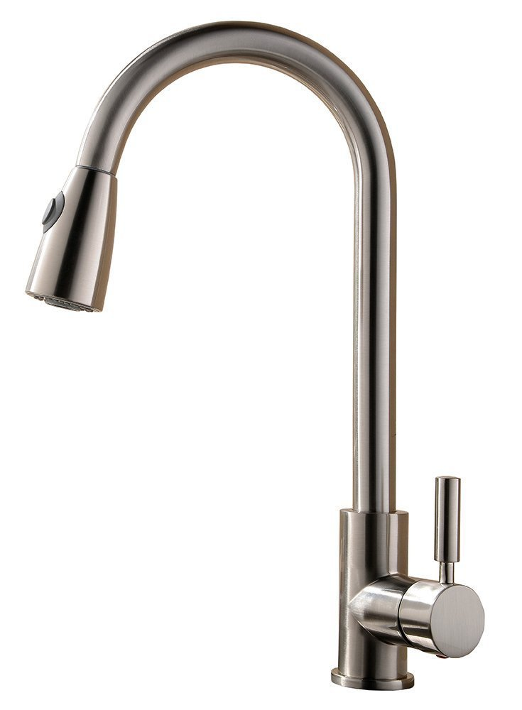 Single Handle Pull out Sprayer Kitchen Faucet