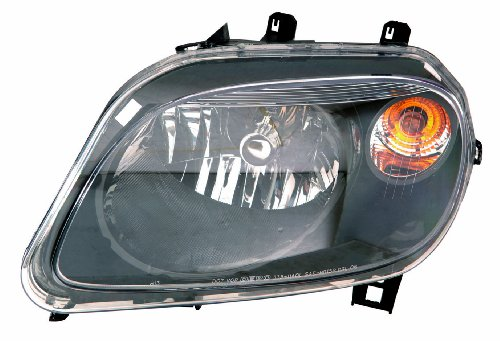 Depo 335-1140P-AS2 Chevrolet HHR Headlight Assembly with Black Bezel - Bezel Headlight Assembly