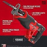 CRAFTSMAN V20 Reciprocating Saw, Cordless, Tool