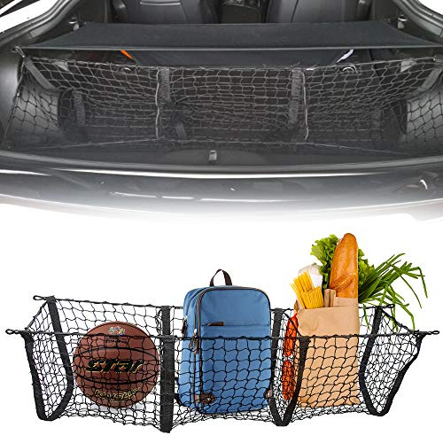 Three Pocket Envelope Cargo Net Fit Jeep Compass Grand Cherokee 2015 2016 2017 2018 2019 Cargo Organizer Storage Net