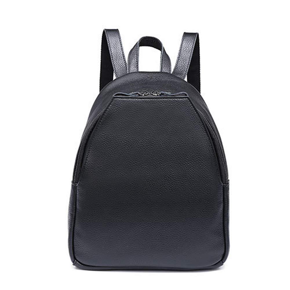 38020f13526e Amazon.com: HWX Unisex Backpack Leather Rucksack College School ...