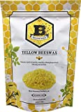 Beesworks® Beeswax Pellets, Yellow, 1lb-Cosmetic Grade-Triple Filtered Beeswax.: more info
