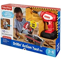 Fisher-Price Drillin Action Tool, Multi Color