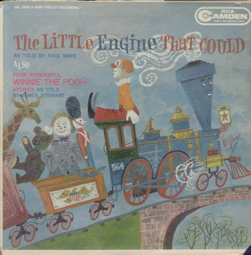 The Little Engine That Could as told by Paul Wing & Four Wonderful Winnie The Pooh Stories as told by James Stewart [Vinyl LP - Wonderful Wings