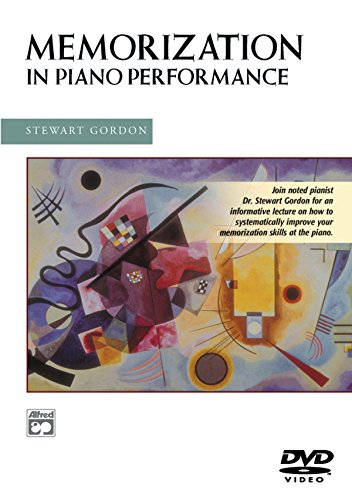 DVD : Dr. Stewart Gordon - Memorization In Piano Music (DVD)