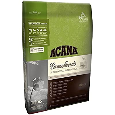 Acana Grasslands Grain Free Dry Dog Food with Lamb - Trial .75 lb. Bag