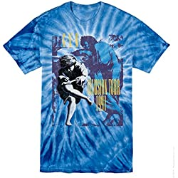 Guns N' Roses - 1991 Tour Tie-Dye Two Sided - Adult T-Shirt - Large