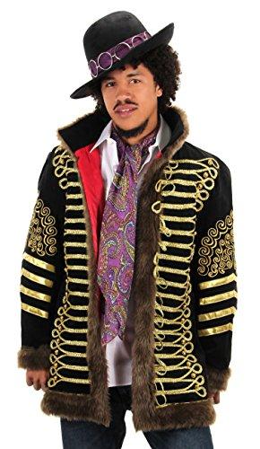 Hendrix Halloween Costume (elope Jimi Hendrix Paisley Scarf)