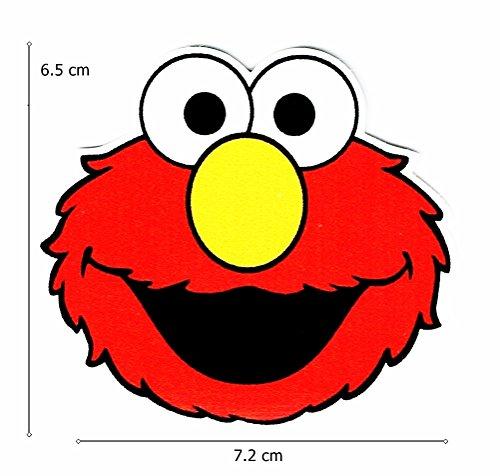 Sesame Street Elmo Cartoon Sticker