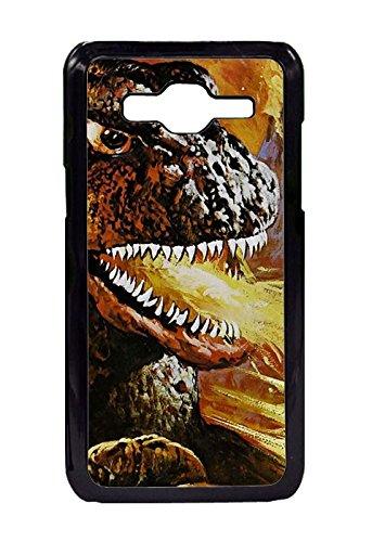 Godzilla Vs. Mechagodzilla Movie Pattern Soft TPU Case for Samsung Galaxy J3/Galaxy Amp Prime Design By [Thomas Revels]
