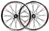 "VUELTA ZEROLITE MTB PRO 26"" Wheelset Black Alloy Mountain Bike Wheels"