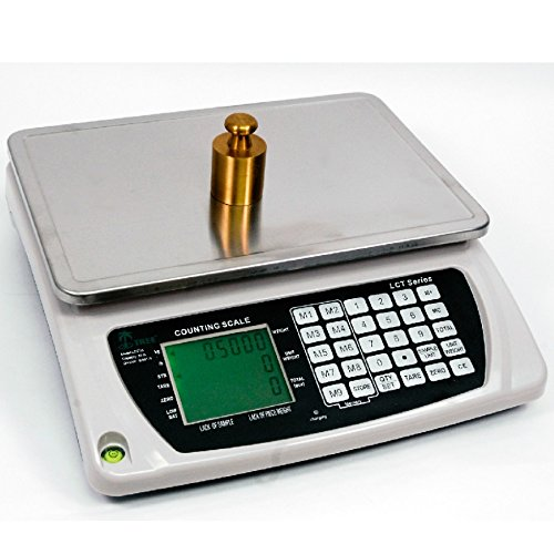 LW Measurements Large Heavy Duty Counting Inventory Digital Scale 110 Lbs LCT-LI Series