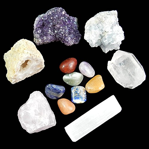 Quartz Crystal Stone Set - 7
