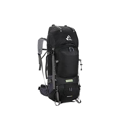 WJ Hiking Backpack, Outdoor Travel Waterproof Breathable Trekking Camping  Climbing 60L Large Capacity Mountaineering Sports 1ee9013cf1
