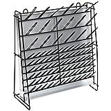 "PSC 2162001 Steel Wire Draining Rack, 7.125"" Length, 18.5"" Width, 19"" Height"