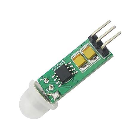 MagiDeal HC-SR505 Mini Detector Infrarrojo PIR Sensor de Detección Infrarrojo Preciso