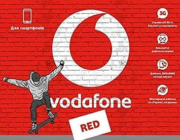 Prepaid de Tarjeta SIM de Vodafone Ucrania: Amazon.es ...