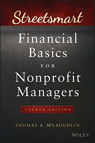 Book Cover: Streetsmart Financial Basics for Nonprofit Managers
