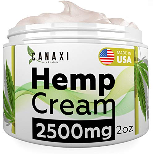 Natural Hemp Extract Pain Relief Cream 2500MG Hemp Balm Ointment Slave Contains Arnica for Inflammation Arthritis, Knee, Joint & Back Pain Muscle Pain Relief - Made in USA - EMU Oil - GMO-Free (Best Medication For Muscle Pain)