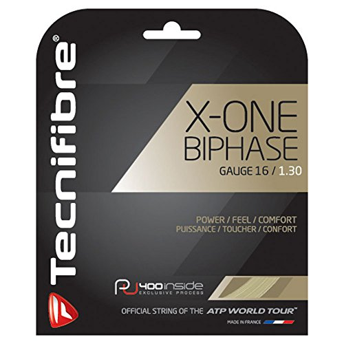 Tecnifibre Synthetic Gut (Tecnifibre X-One Biphase (16-1.30mm) String Set (Natural))