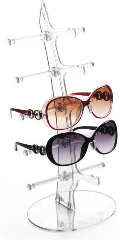 Image ofKicode práctica extraíble 5 Capas de Las Lentes Gafas de Sol Gafas de visualización Estante del Soporte de la Herramienta del Estante del sostenedor