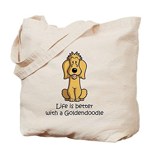 CafePress Natural Goldendoodle CafePress Goldendoodle Cloth Bag Tote Shopping Bag Canvas ZaUrawqx
