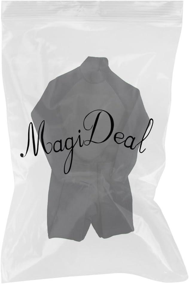 MagiDeal 3mm Combinaison de Plong/ée Hommes Complets Avec Fermeture /à Glissi/ère Costume Isothermique